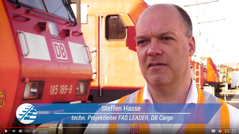Fahrerassistenzsysteme: Steffen Haase, technischer Projektleiter bei DB Cargo im Video