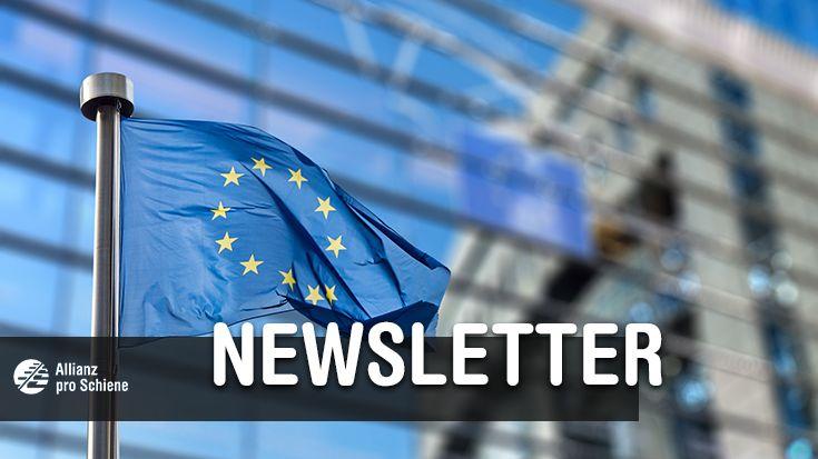 """Newsletter: Merkels Pläne zur Verkehrswende, die drei größten Aus- und Neubauprojekte in 2019 und Minister-Glückwünsche zum """"Bahnhof des Jahres""""-Jubiläum - Allianz pro Schiene"""