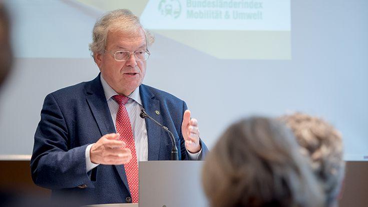 Bundesländerindex Mobilität und Umwelt 2018/ 2019: Hubert Weiger
