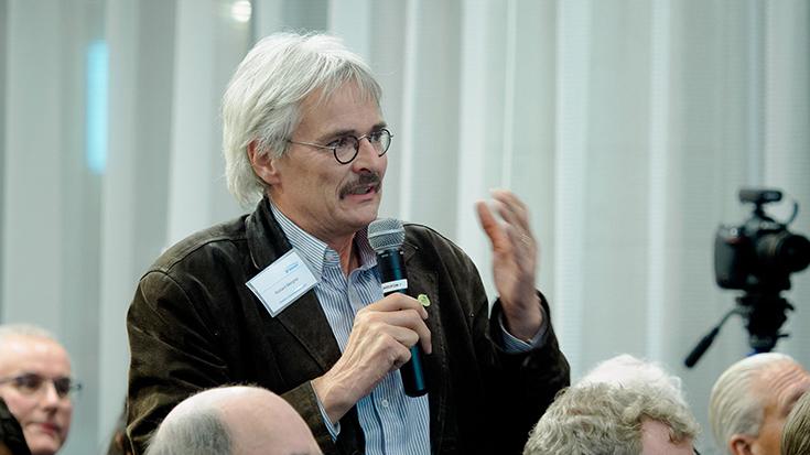 """""""Goldene Umweltschiene"""": Staatssekretär überreicht Preis an Allianz pro Schiene: Richard Mergner"""