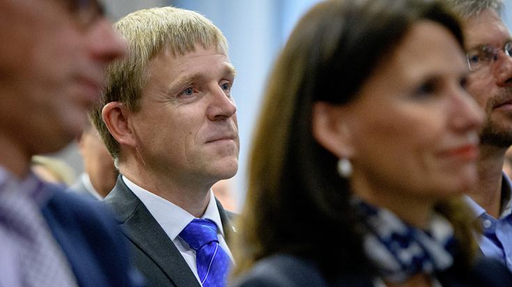 """""""Goldene Umweltschiene"""": Staatssekretär überreicht Preis an Allianz pro Schiene: Andreas Geißler"""