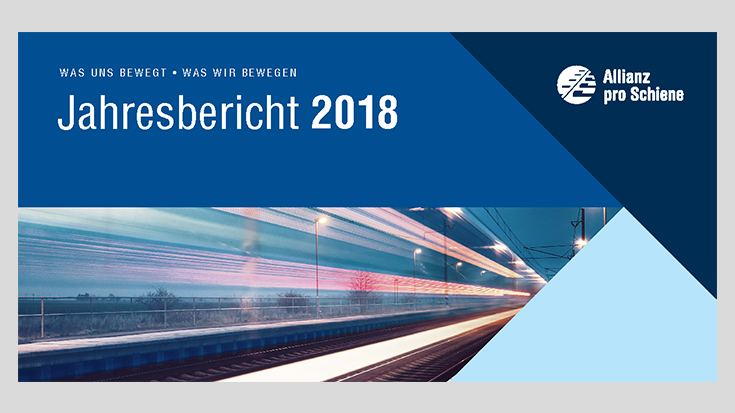 Allianz pro Schiene: Jahresbericht 2018