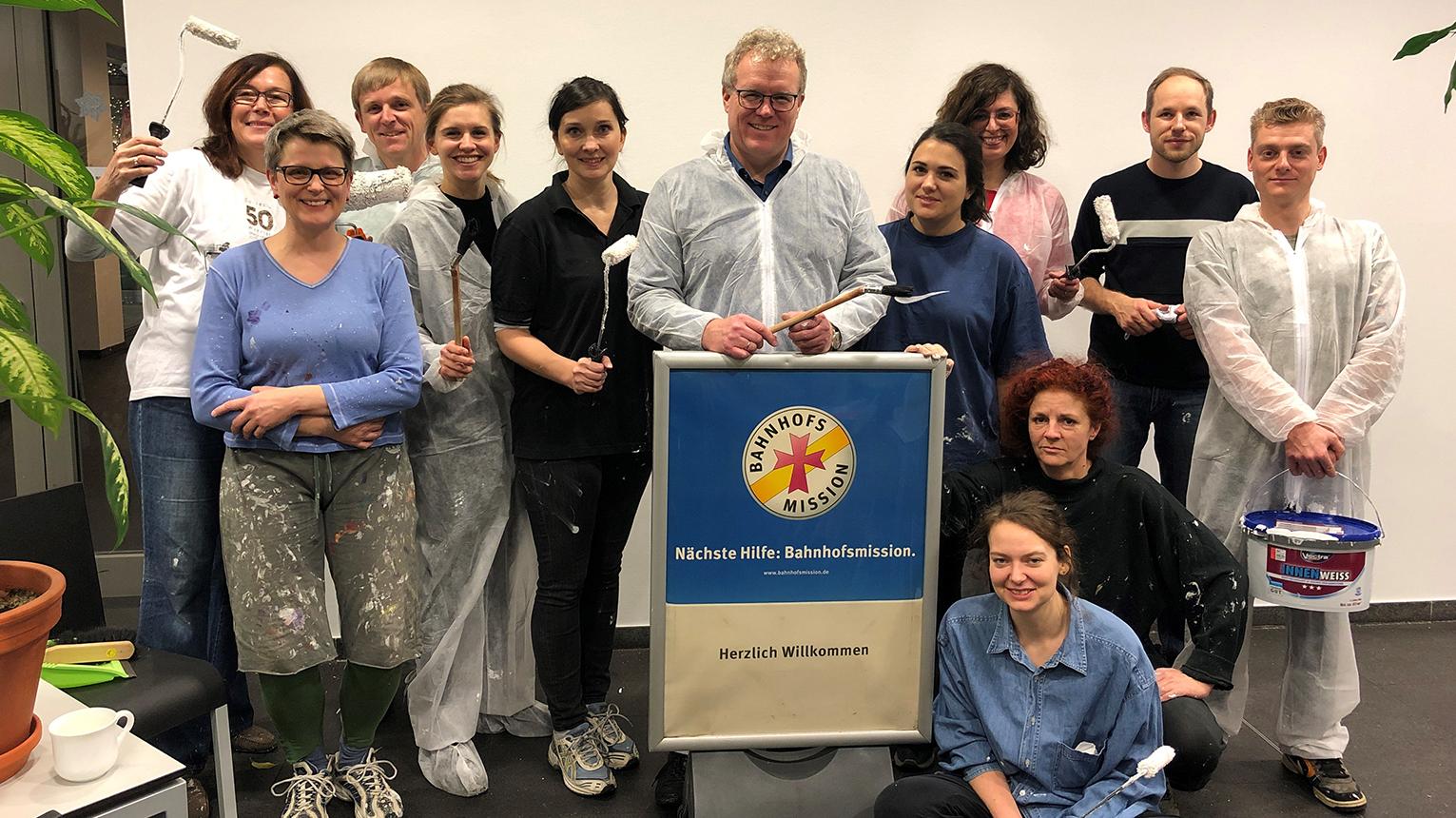 Weihnachten 2018: Allianz pro Schiene / Bahnhofsmission
