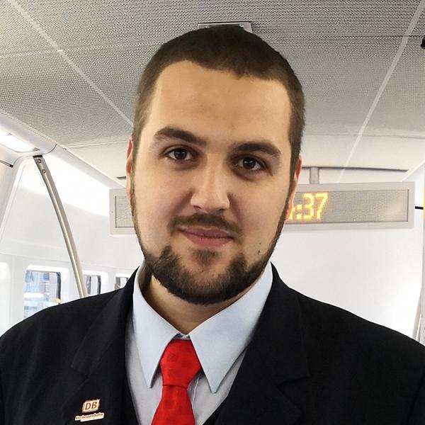 Eisenbahner mit Herz: Nominierte 2019 - Julian Schmidt