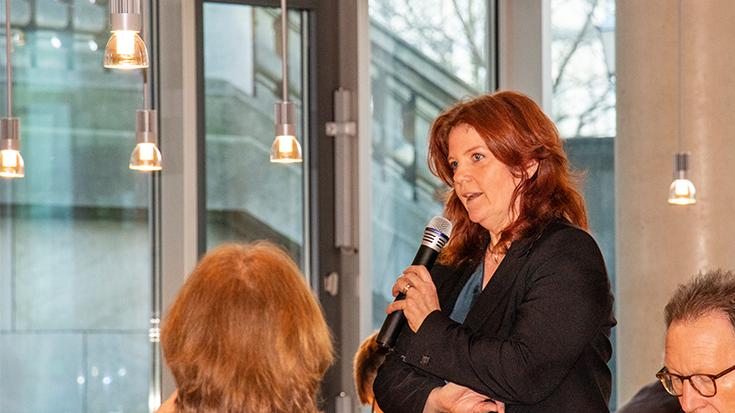 Lärmminderung im Schienenverkehr: Parlamentarisches Frühstück der Allianz pro Schiene, Sandra Weeser