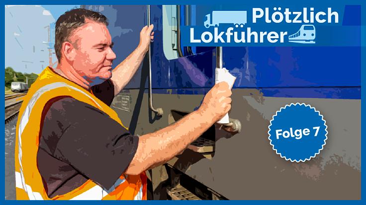Plötzlich Lokführer, Folge 7: Am Ziel – im Führerhaus der Güterbahn / André Kleinbölting ist der Wechsel gelungen – mit Begeisterung steuert er durchs Rheintal