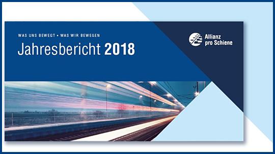Allianz pro Schiene Jahresbericht 2018