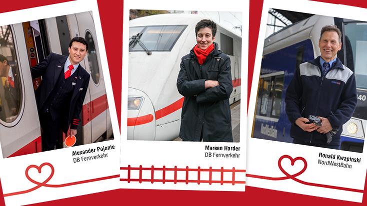Die Harmburger Zugchefin Mareen Harder ist Eisenbahnerin des Jahres. Im Wettbewerb