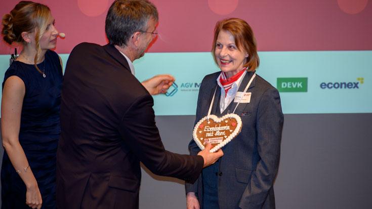 Ehrung auch für die Landessiegerin Thüringen, Gabriele Kiesel von Abellio