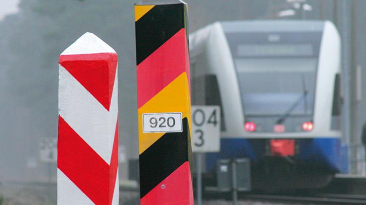 Deutschland - Polen: Eisenbahn-Grenzübergänge