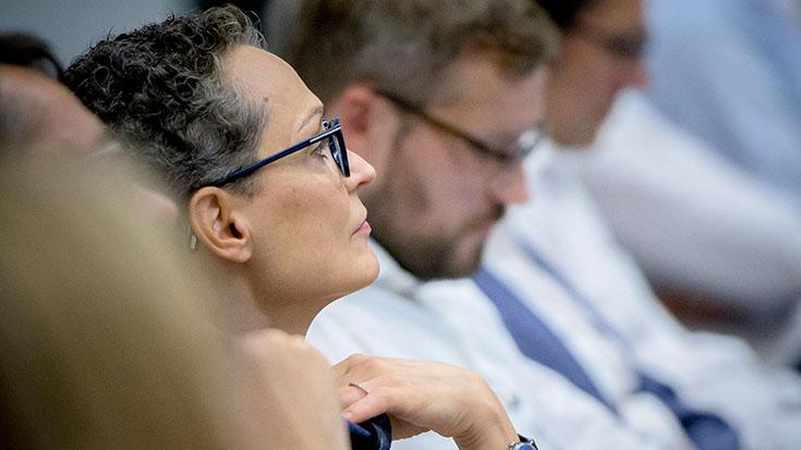 """Seit 2017 Fördermitglied der Allianz pro Schiene: Annegret Haas, Geschäftsführerin der """"Railbeton Haas KG""""."""