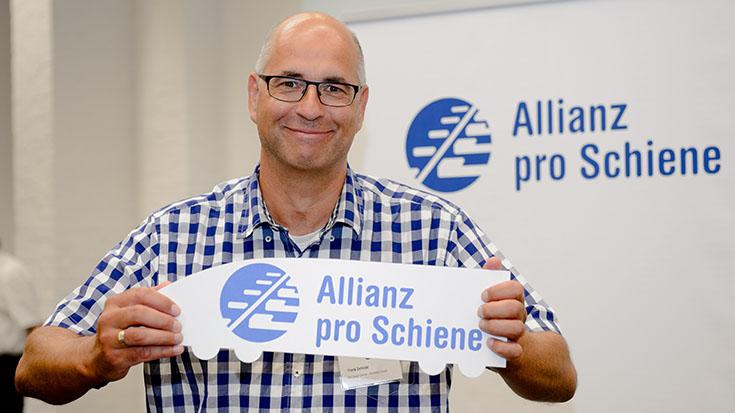 Neues Fördermitglied: Frank Zelinski und sein Unternehmen, die Rail Cargo Carrier - Germany GmbH.