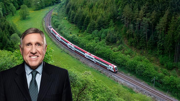 Europas Musterschüler bei der Schiene - Ein Gespräch mit dem luxemburgischen Verkehrsminister François Bausch