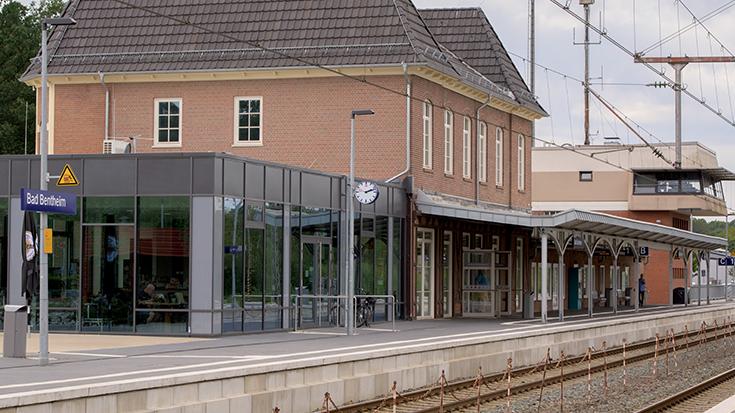 Bahnhof Bad Bentheim | Allianz pro Schiene Bahnhof des Jahres 2019