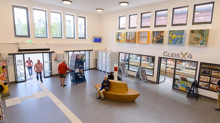 Bahnhof Cuxhaven | Allianz pro Schiene Bahnhof des Jahres 2019