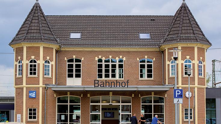 Der Siegerbahnhof: Bad Bentheim ist Bahnhof des Jahres 2019.