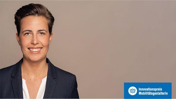 Saskia Schulz - Gewinnerin des Innovationspreis Mobilitätsgestalterin