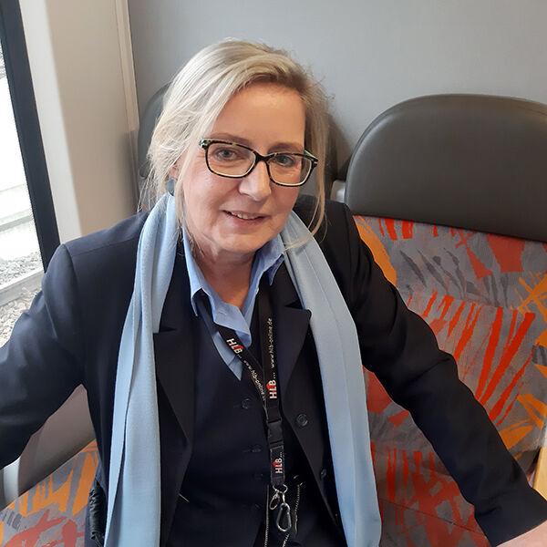 Eisenbahner mit Herz Nominierte 2020 - Birgitta Bub