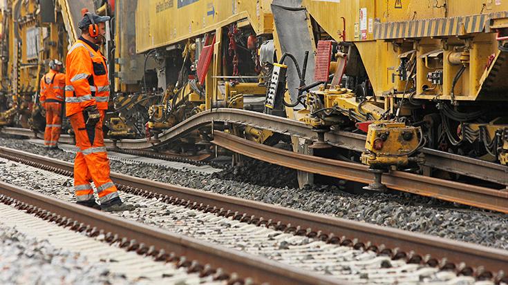 Schienenbau in Deutschland