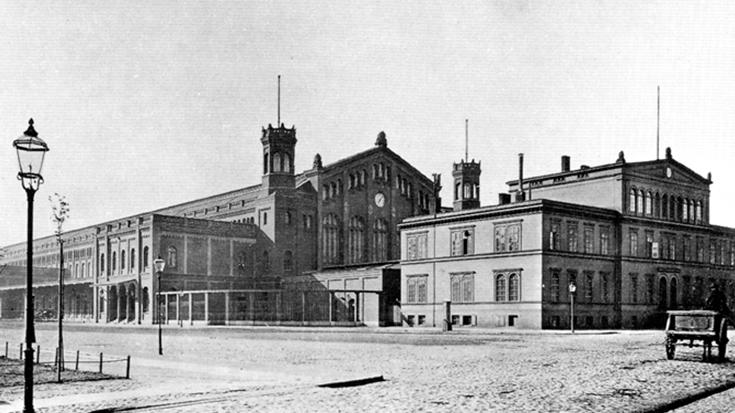 Archivaufnahmen des heutigen Berliner Ostbahnhofs