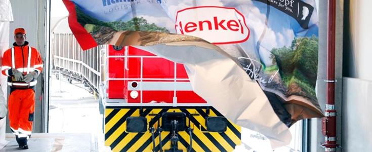 15.000 Lkw weniger jedes Jahr: Henkel setzt auf den Güterzug