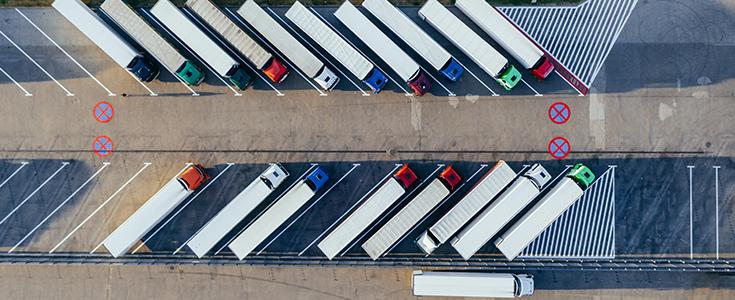 Die Übersubventionierung des LNG-Lkw sorgt für noch mehr Verkehr auf den Straßen.