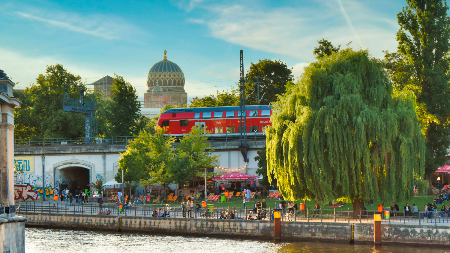 Schienenverkehr sorgt für mehr Lebensqualität im Alltag