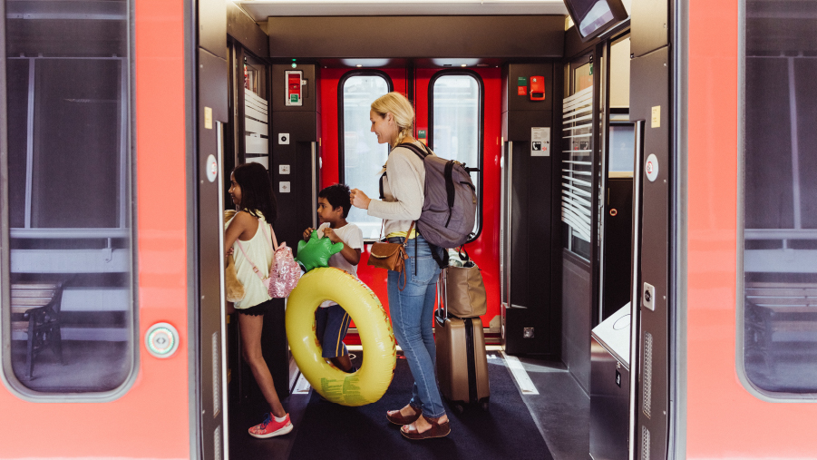 Schienenverkehr steht für sicheren Verkehr