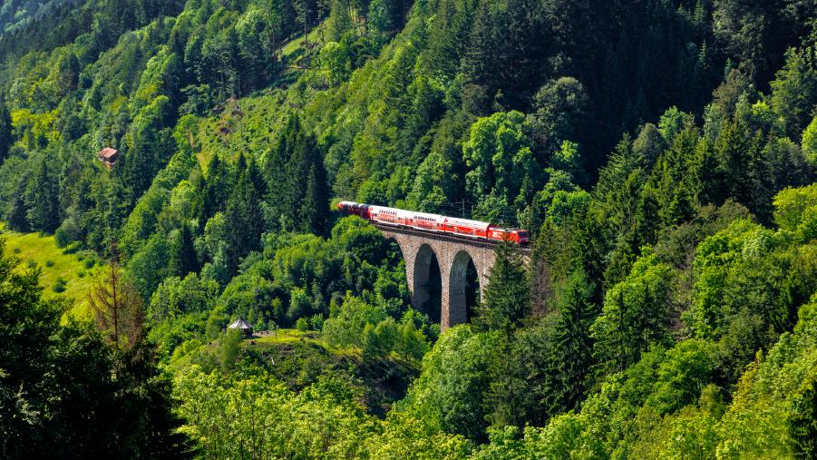 Schienenverkehr erspart der Gesellschaft Geld