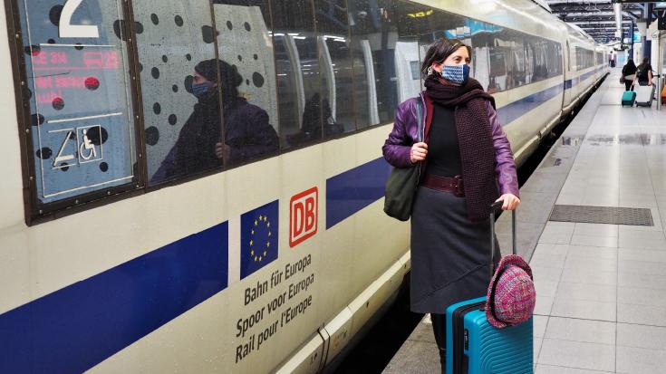 MdEP Deparnay Grunenberg ist Berichterstatterin für das Jahr der Eisenbahn