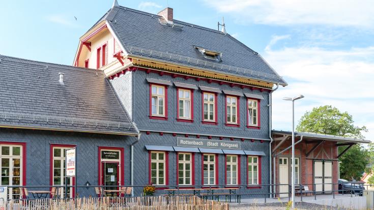 Der Bahnhof Rottenbach: Sonderpreis beim Bahnhof des Jahres 2020