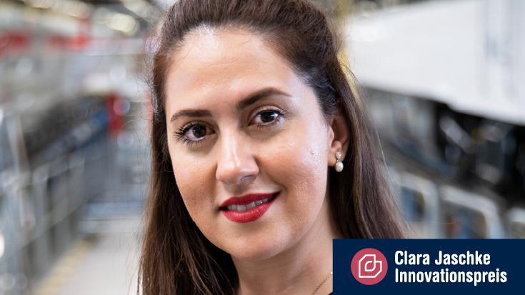 Sara Valipour - Gewinnerin des Clara Jaschke Innovationspreis 2020