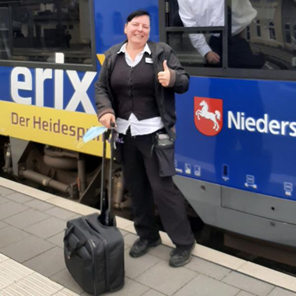 Eisenbahner mit Herz Nominierte 2021 - Bianca Schönhaber