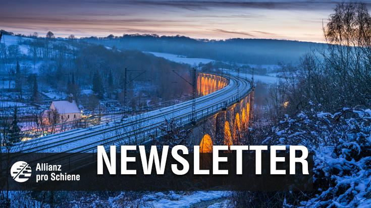 Dezember Newsletter der Allianz pro Schiene