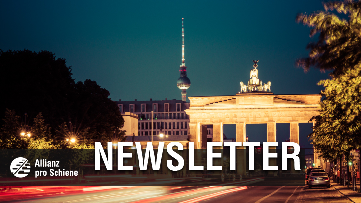April Newsletter der Allianz pro Schiene