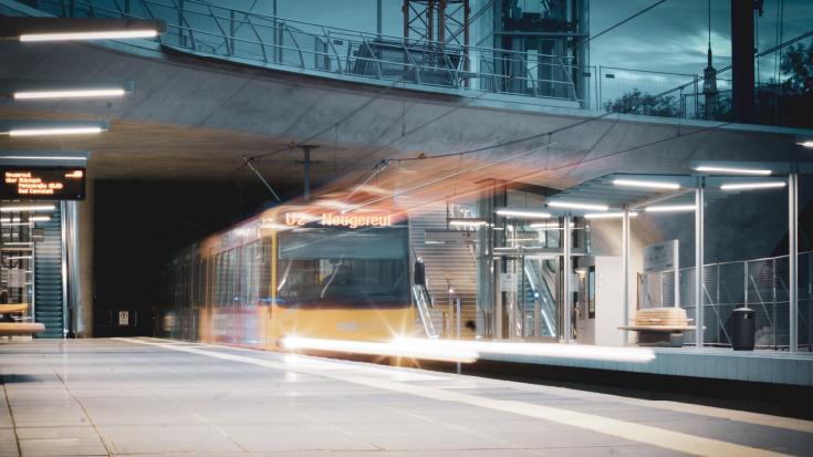 Der ÖPNV in Stuttgart.