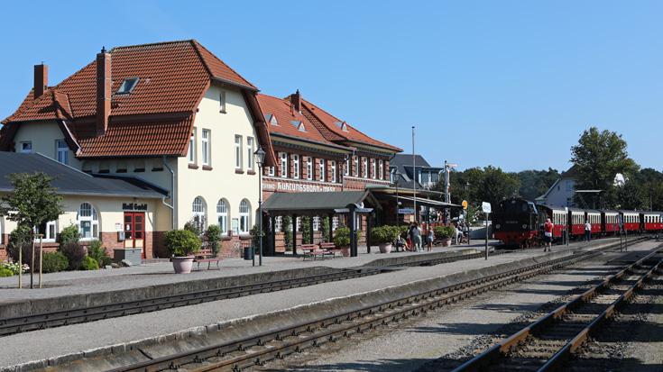 Der Bahnhof Ostseebad Kühlungsborn West