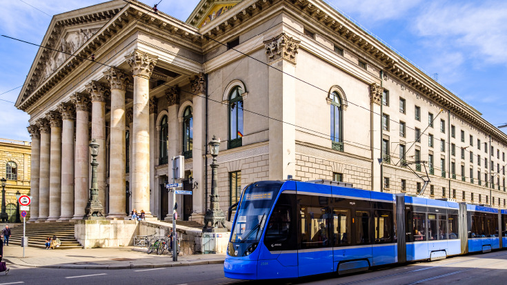 Die Tram in München