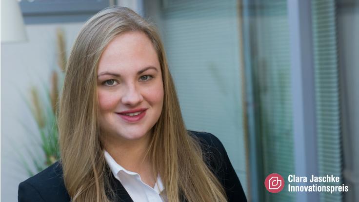 Julia Kuhfuß - Gewinnerin des Clara Jaschke Innovationspreis 2021