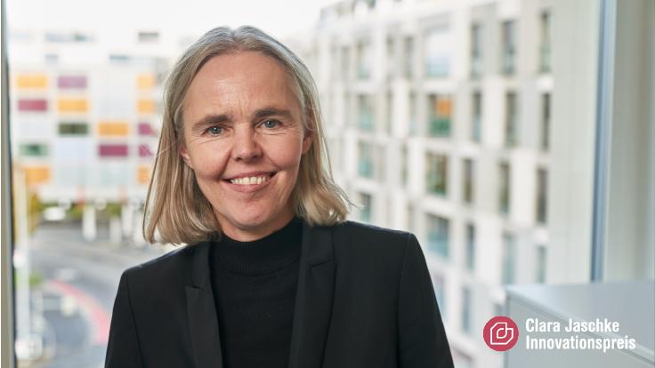Irmhild Saabel - Gewinnerin des Clara Jaschke Innovationspreis 2021
