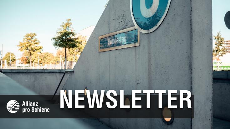 Newsletter der Allianz pro Schiene